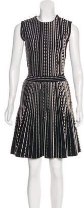 Christian Dior Pleated Knee-Length Dress