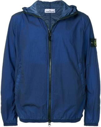Stone Island hooded zipped jacket