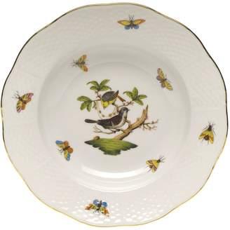 Herend Rothschild Bird Rimmed Soup Bowl, Motif #1