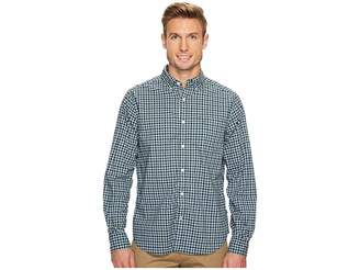 Nautica Long Sleeve New Plaid Men's T Shirt