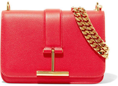 TOM FORD - Tara Textured-leather Shoulder Bag
