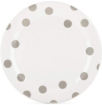Kate Spade All in Good Taste Deco Dots 4-Pc. Beige Dinner Plate Set