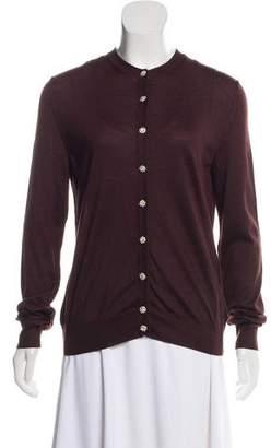 Dolce & Gabbana Cashmere & Silk-Blend Knit Cardigan w/ Tags
