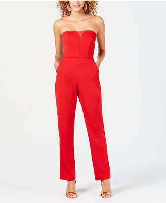 Teeze Me Junior's Strapless Jumpsuit