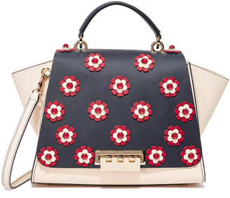ZAC Zac Posen Eartha Floral Soft Top Handle Bag $550 thestylecure.com