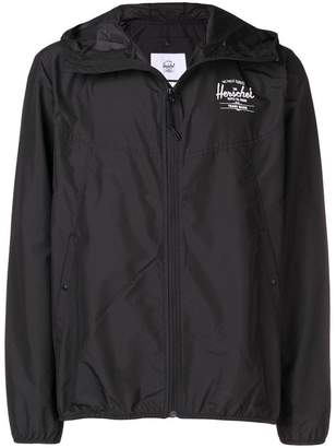 Herschel hooded zip wind breaker