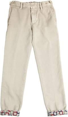 Myths Textured Cotton Pants