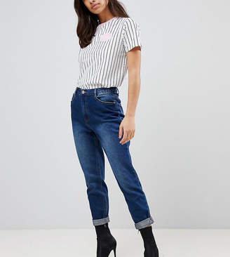 Missguided Petite Riot High Rise Mom Jeans