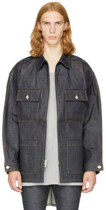 Fear Of God Indigo Long Denim Jacket