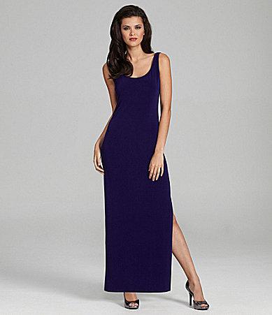T Tahari Aura Cowlback Maxi Dress