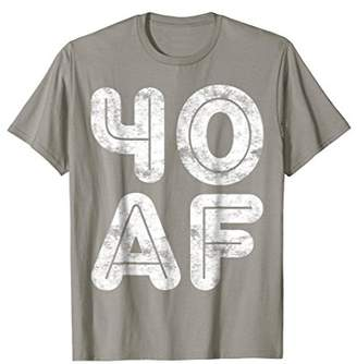 Abercrombie & Fitch 40 T-Shirt Funny 40th Birthday Gift Shirt