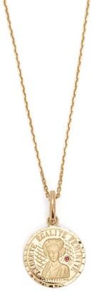 Anissa Kermiche - Louise D'or Ruby & 18kt Gold Necklace - Womens - Gold