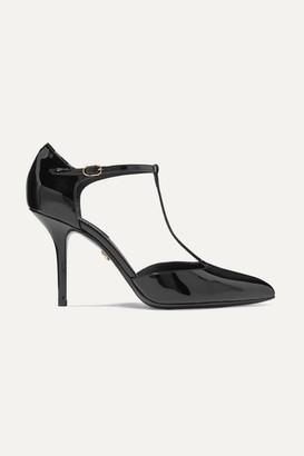 Dolce & Gabbana Patent-leather Pumps - Black