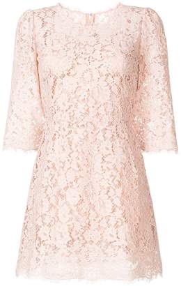 Dolce & Gabbana Cordonetto lace mini dress