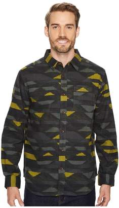 Columbia Boulder Ridge Printed Long Sleeve Shirt Men's Long Sleeve Button Up