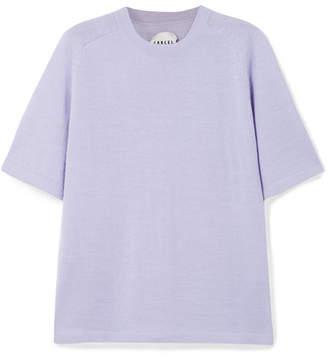 Carcel - Uni Baby Alpaca T-shirt - Purple