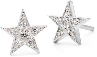 Harry Rocks - Silver Star Stud Earrings