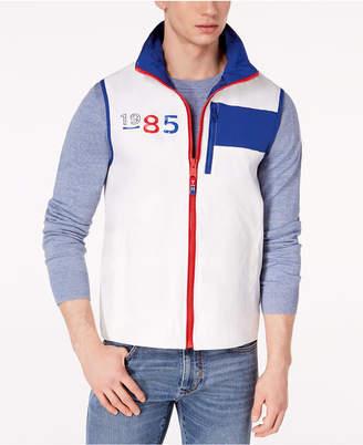 Tommy Hilfiger Men's Ashby Logo-Print Vest, Created for Macy's