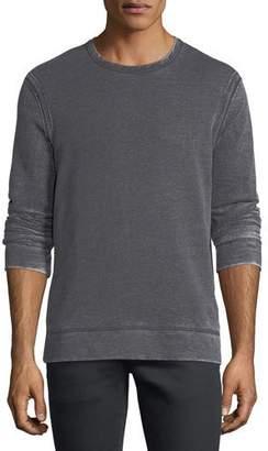 John Varvatos Exposed Seam Long-Sleeve Sweatshirt