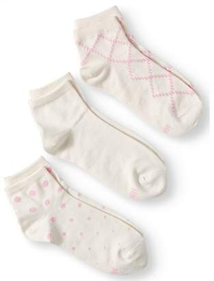 Hanes Women's ComfortSoft Ankle Socks, 3-Pack - Colors May Vary