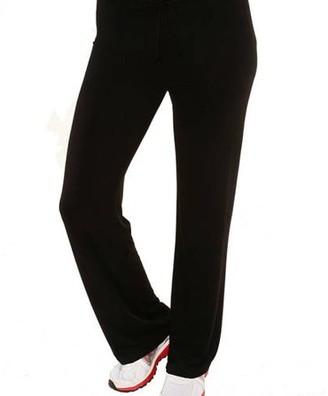 24/7 Comfort Apparel Women's Draw String Narrow Pants