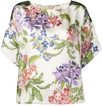 Liu Jo fantasia floral blouse
