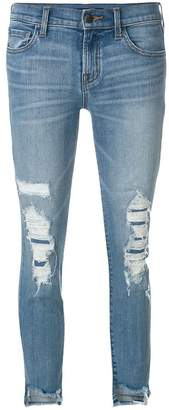J Brand ripped denim jeans