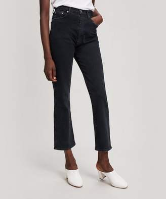 A Gold E AGOLDE Pinch Waist High-Rise Kick Flare Jeans