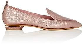 Nicholas Kirkwood Women's Beya Leather Loafers-Dusty Pink