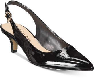 Bella Vita Scarlett Ii Kitten-Heel Slingback Pumps Women Shoes