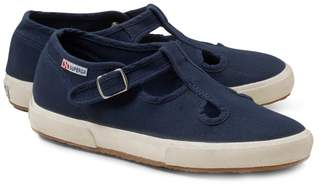 Brooks Brothers Girls Superga T-Strap Sneakers