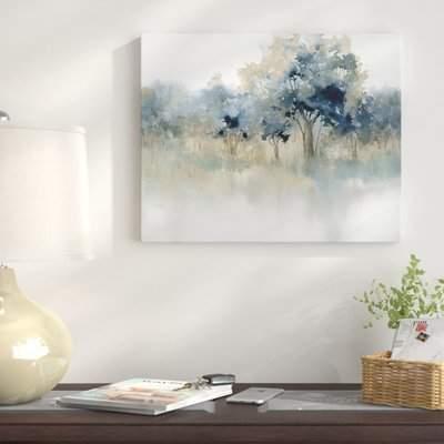 Wayfair 'Waters Edge II' Oil Painting Print on Wrapped Canvas