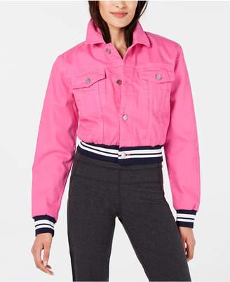 Juicy Couture Denim Varsity Jacket