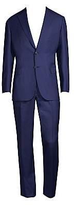 Brioni Men's Tonal Pinstripe Wool Suit