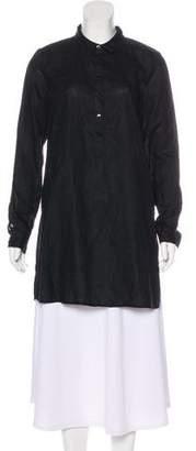 Eileen Fisher Long Sleeve Linen Tunic