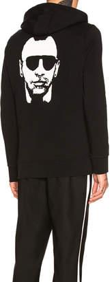 Neil Barrett Mohican Gangsta Sweatshirt