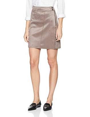 Comma Women's 81.902.78.8524 Skirt,8 (Size: 34)
