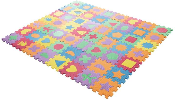 Pier 1 Imports Shapes Foam Floor Puzzle Learning Mat