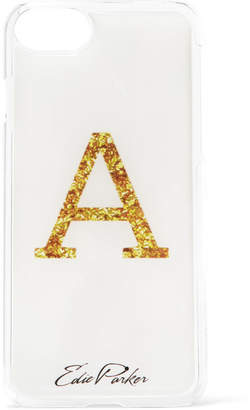 Edie Parker Goo.ey Printed Plastic Iphone 6 And 7 Case - White