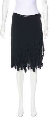 Jean Paul Gaultier Vintage Fringe-Trimmed Skirt