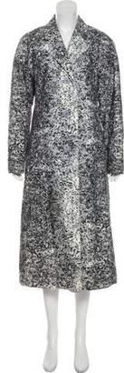Issey Miyake Printed Long Coat