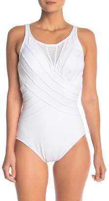 Miraclesuit Illusionist Mesh One-Piece Swimsuit