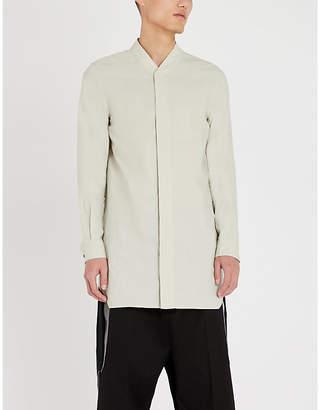 Rick Owens Longline cotton shirt