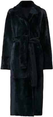 Drome reversible midi coat