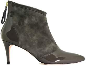 Chillerton - Olive Green Leather Boots