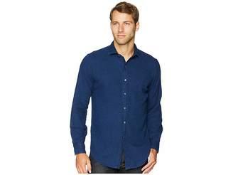 Polo Ralph Lauren Indigo Twill Long Sleeve Sport Shirt