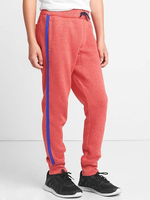 Fleece track pants
