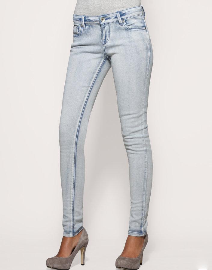 ASOS Iggy Misty Blue Skinny Jeans