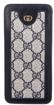 Gucci Vintage GG Phone Holder Navy Vintage GG Phone Holder