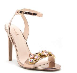 Qupid Womens Ines-11 Heeled Sandals